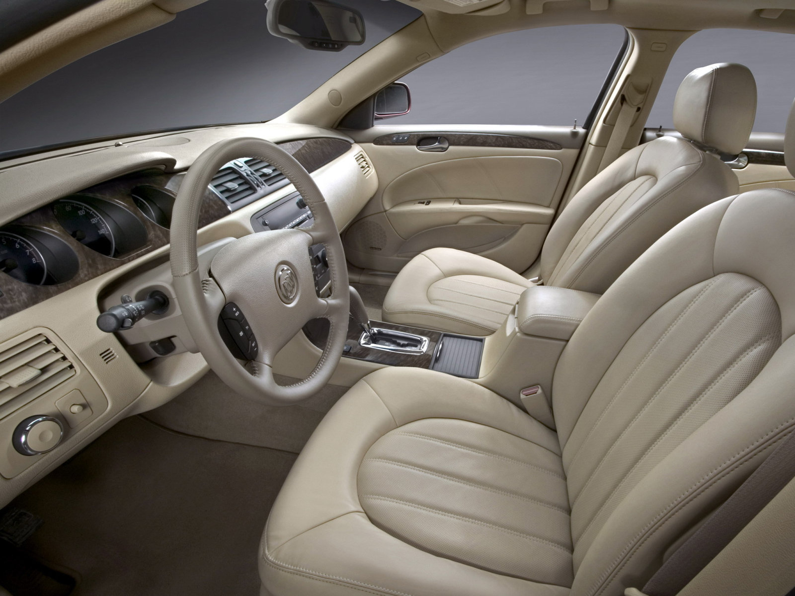 Buick Lucerne Reviews: Research New & Used Models Motor Buick lucerne interior photos